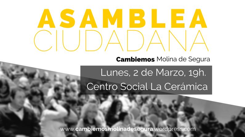 3ª Asamblea ciudadana Cambiemos Molina de Segura