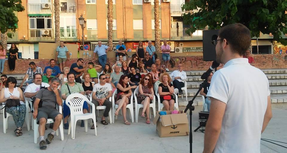 Fernando acto Unidos Podemos