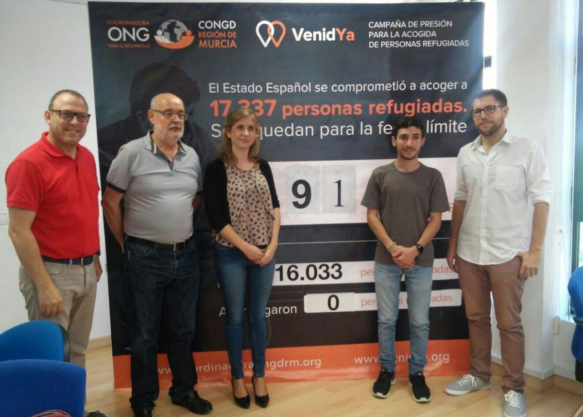 MOLINA DE SEGURA DESTINARÁ 84.100 € A LA AYUDA AL DESARROLLO Y SOLIDARIDAD