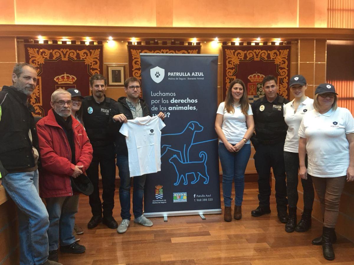 Cambiemos Molina anima a la ciudadanía a formar parte de la  Patrulla Azul